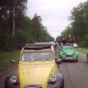 Didier et sa 2CV jaune