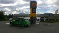 Alta et ses pompes à essence réduites à leur plus simple expression.